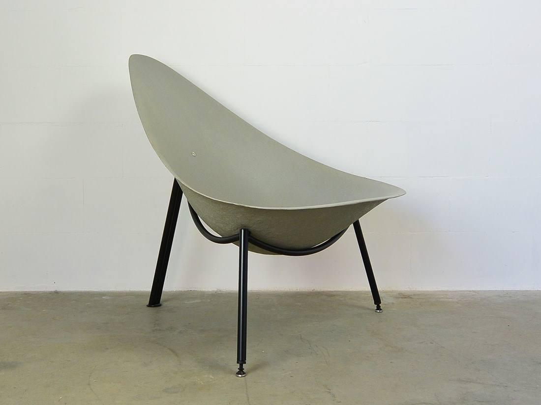 Fiber glass easy chair