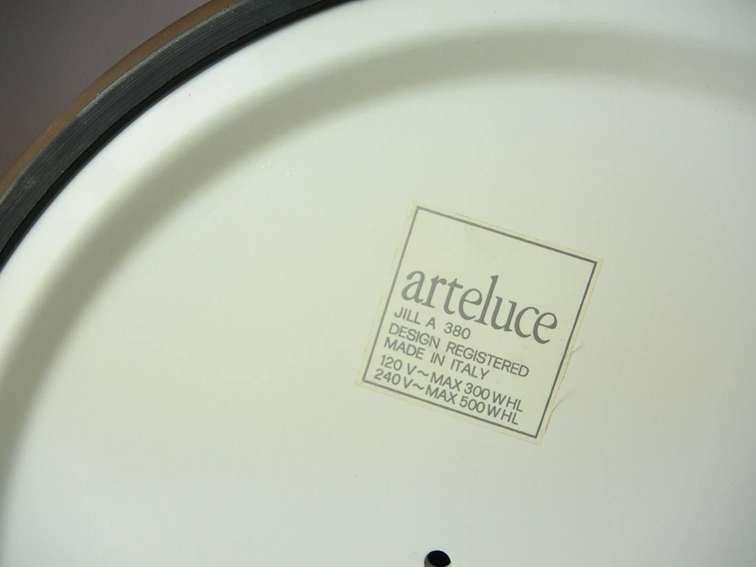 Floorlamp arteluce jill a 380 italian design