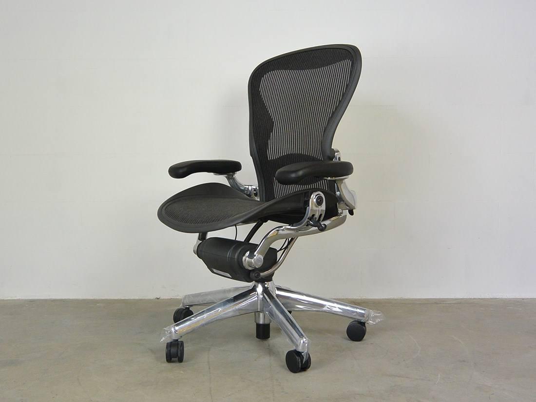 Bureaustoel Aeron B New Herman Miller Ideo Design