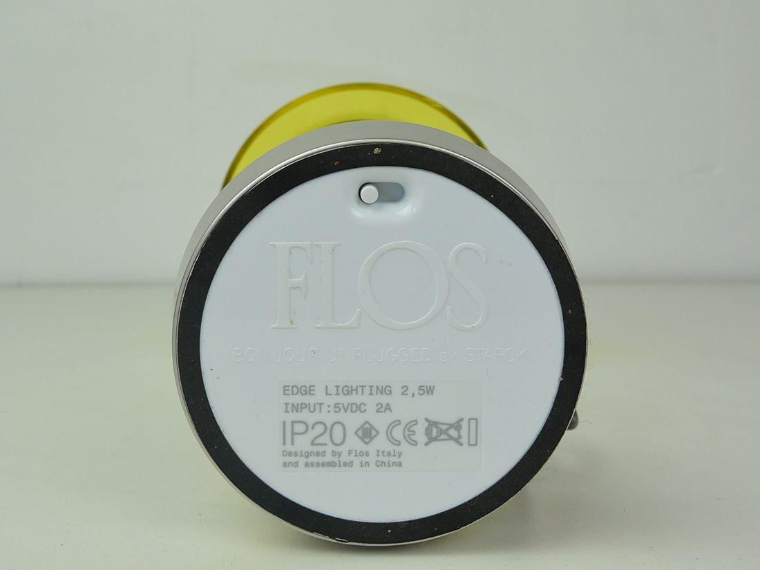 FLOS Bon Jour Unplugged Tafellamp Philippe Starck mark