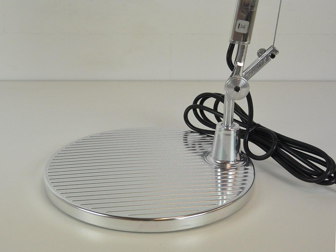 Tolomeo halogeen aluminium bureaulamp 4